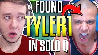 FINALLY FOUND TYLER1 IN SOLO Q! BEST DUO CARRY 2018?? - League of Legends