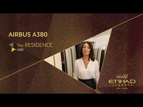 Dannii Minogue Explores The Residence - A380 - Etihad Airways