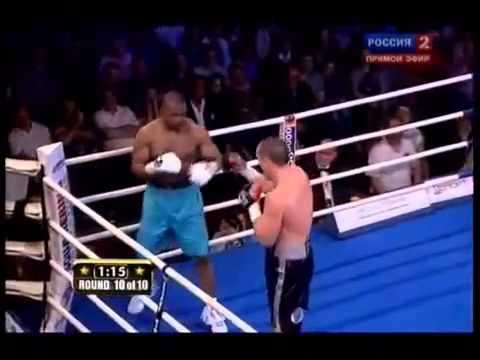 Денис Лебедев - Рой Джонс - отправлен в нокаут