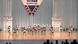 Violets in USA Nationals 2014