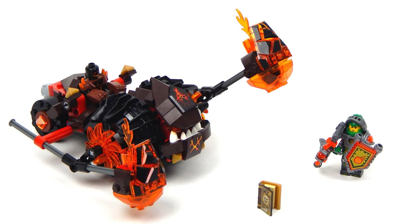 Lego Nexo Knights 70313 Moltor S Lava Smasher Lego Speed Build All