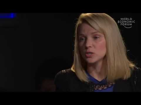 Davos 2013 - An Insight, An Idea with Marissa Mayer
