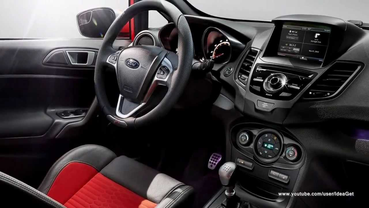 Ford Fiesta Sedan >> 2014 Ford Fiesta ST Interiors and Exteriors - YouTube