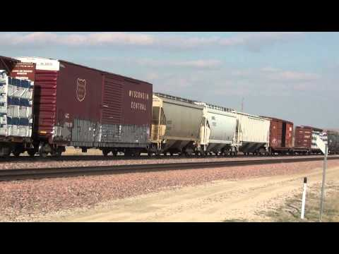 Meet near Union Pacific Spine Line and Main Line east of Nevada, Iowa
