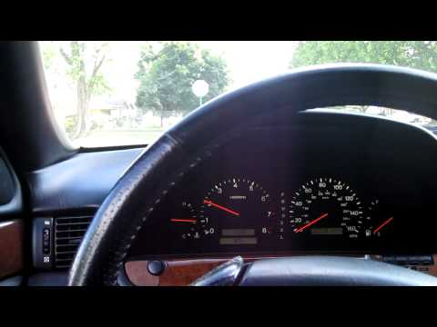 1999 Lexus SC300 Test run lowlow boost
