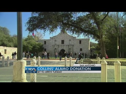 Phil Collins Alamo artifacts to arrive in Texas