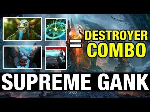 SUPREME GANK - DESTROYER COMBO - MinD_ContRoL Plays Nature's Prophet - Dota 2