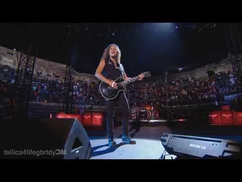 Metallica - Kirk Solo + Nothing Else Matters (Nimes, France) 1080p HD