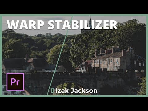 Fix Shaky Footage In Premiere Pro With Warp Stabilizer