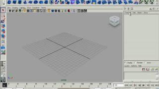 Основные элементы интерфейса Autodesk Maya 2010. Часть 2 (3/42)