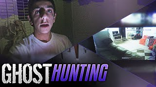 CRAZY GHOST HUNTING IN MY HOUSE