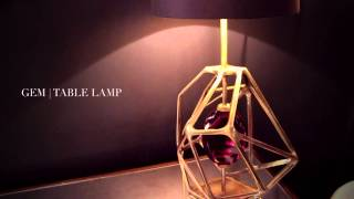 Gem | Table Lamp byKoket | Luxury Lighting