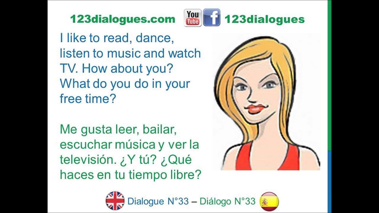 english dialogues essay