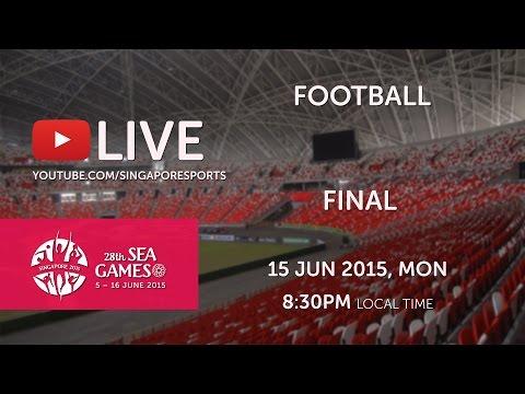 Football Final Thailand vs Myanmar | 28th SEA Games Singapore 2015