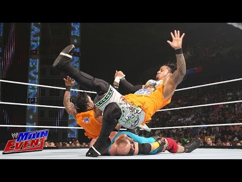 The Usos Vs. Curtis Axel And Ryback: Wwe Main Event, July 29, 2014 video