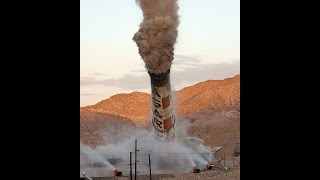 ASARCO Smelter Smokestacks Demolition El Paso Tx.