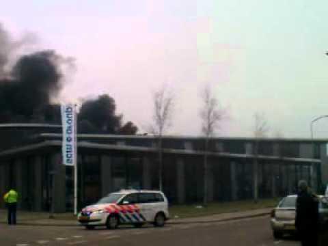 Grote brand Soldaatweg Wormerveer