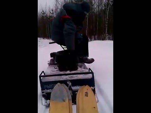 характеристика мини снегохода рыбак 2