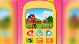 Baby Phone Game for Kids Animals, Music and Rhymes