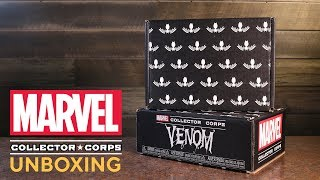 Amazon Exclusive Marvel Collector Corps Venom Unboxing!