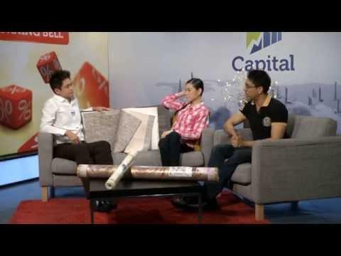Capital TV's Morning Bell Interview about Korea Wallpaper (Part 1)