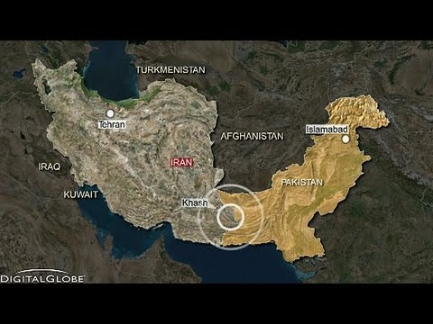 Powerful earthquake strikes Iran