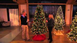Bethlehem Lights 9' Virginia Pine Christmas Tree w/Instant Power with Rick Domeier