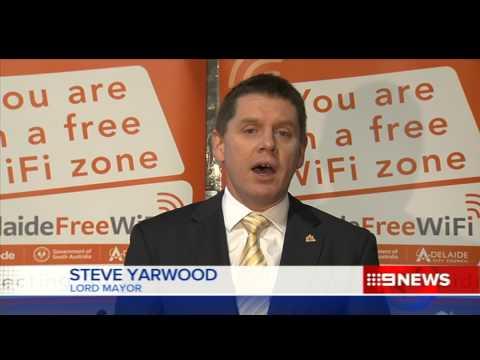 CBD WiFi | 9 News Adelaide