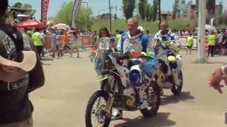 Dakar 2016 : partenza Diocleziano Toia da Tecnopolis