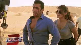 Race 3 Salman Khan And Jacqueline Fernandez Action Scene  In Race 3 Shooting