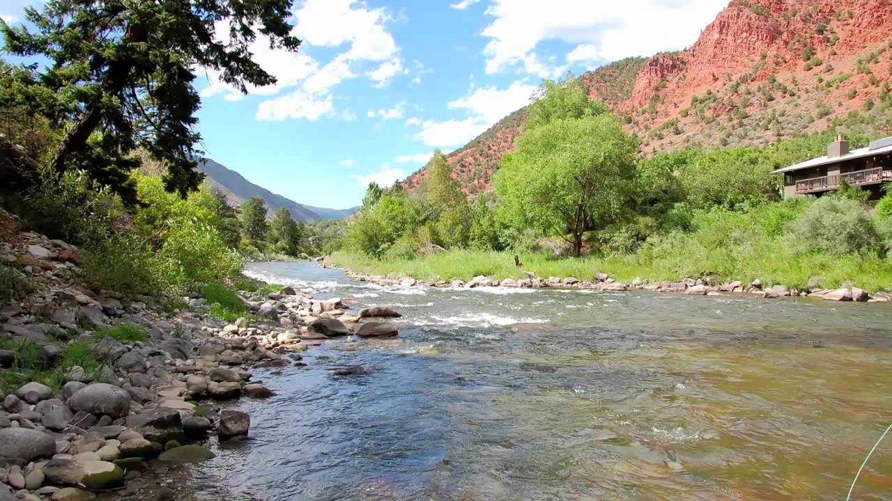 Roaring fork and frying pan rivers colorado youtube for Roaring river fishing