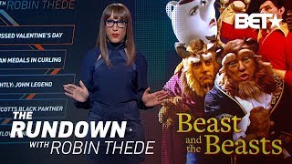"""Happy Black Panther Day! Larry Wilmore Calls Trump """"B***h Baby"""" 