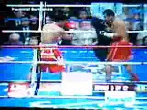 October 7, 2007 Pacquiao vs Barerra RND5