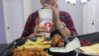 ASMR (EATING SOUNDS) | No Talking | Zaxbys Wings&&Things