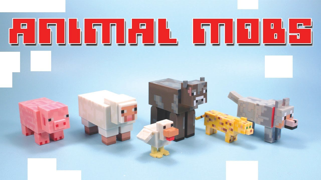 Minecraft Toys Series 2 Overworld Articulated Animal Mobs
