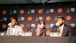TigerNet.com - Clemson arrival press conference