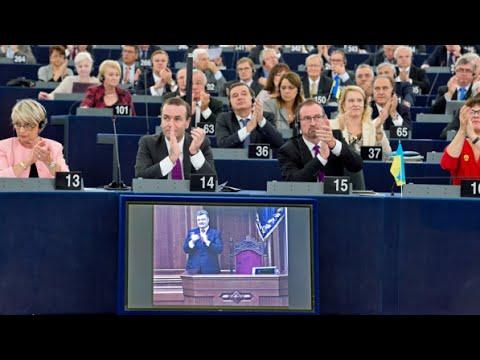 Parliament backs long-awaited EU-Ukraine Association Agreement