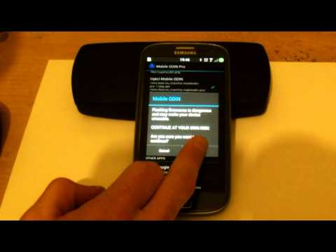 Galaxy S 3 flashing with mobile odin