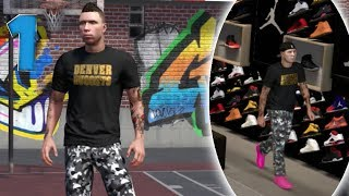 NBA 2K18 MyPark - BUYING THE MOST EXPENSIVE SHOES BEFORE MY FIRST EVER GAME!