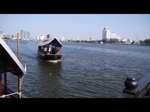 Anantara Hotel Boat On Chao Phraya River Bangkok