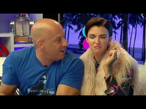 Vin Diesel & Ruby Rose Do BEAN BOOZLED CHALLENGE!