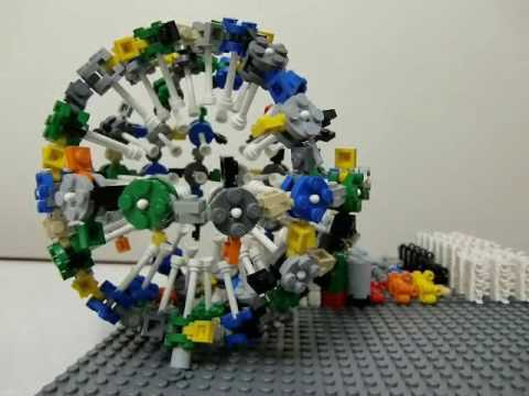 LEGO Sphere/Ball Stop Motion レゴの球体を制作