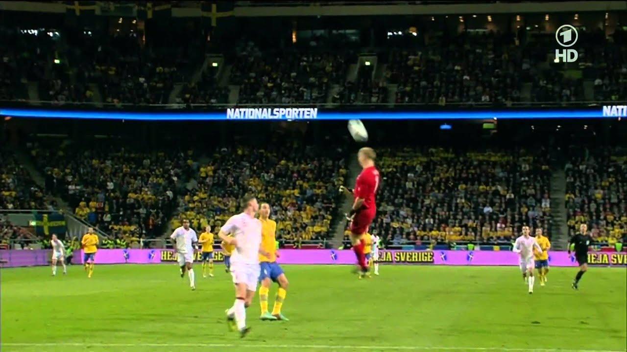 Zlatan Ibrahimovic Amazing Goal ( Sweden Vs England ) 4-2 ...