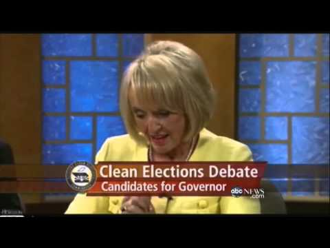 Gov. Jan Brewer's Brain Freeze