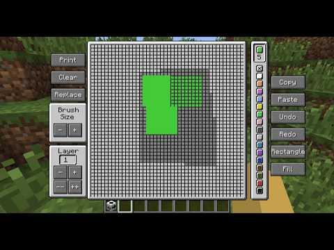 Minecraft - Impresora MOD! (Haz Pixel Art Inmensos. Imaginación a Tope!) - ESPAÑOL TUTORIAL