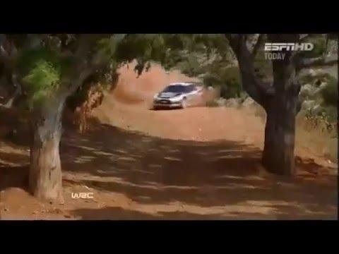WRC 2011 Greece Mikko Hirvonen VS tree