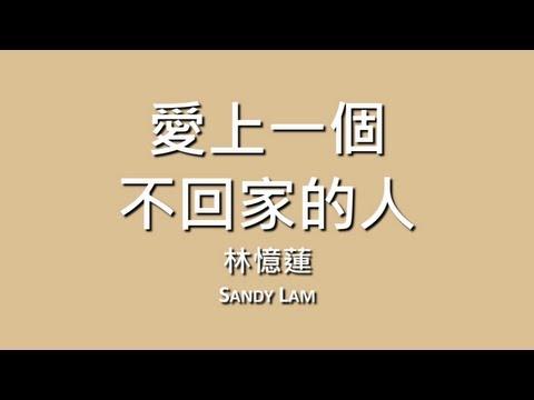 林憶蓮 Sandy Lam / 愛上一個不回家的人【歌詞】