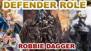 Mobius Final Fantasy- (Multiplayer) Defender Role Guide - Why it is AMAZING