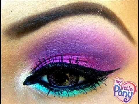 MY LiTTLE PONY iNSPiRED MAKEUP