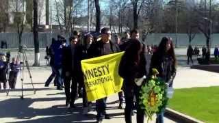 Protest la Parlament contra impunității torționarilor din aprilie 2009